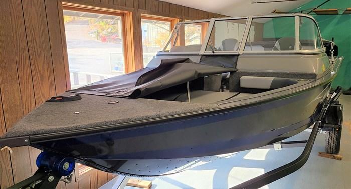 2021 MirroCraft Boat, Mercury 90HP Motor&Trailer (Pkg) Holiday 168 - 20T - Blue Photo 6 of 25