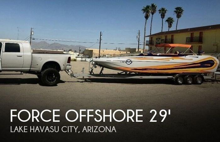 2005 Force Offshore 29 CAT Photo 1 sur 20