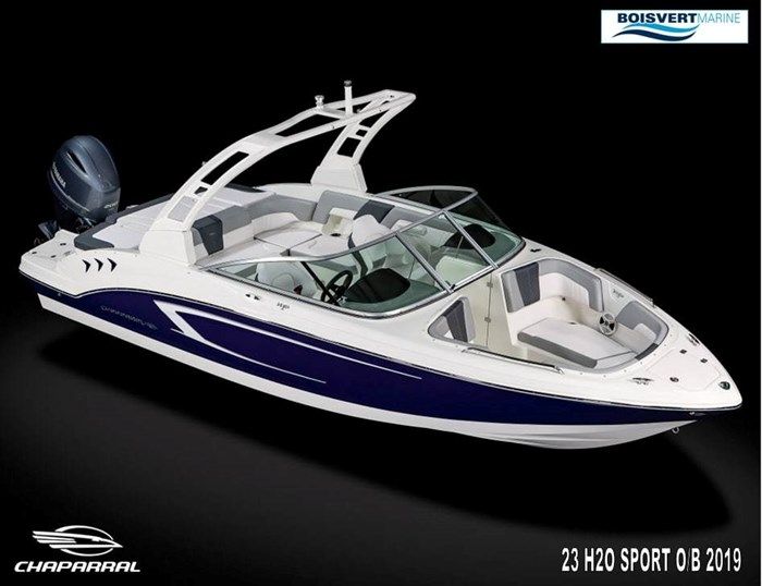 Chaparral 23 H2O SPORT O/B 2019 New Boat for Sale in