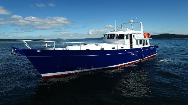 2014 Whitacre 68 Offshore Adventure Pleasure Yacht Coast Guard Cutter Photo 1 sur 44