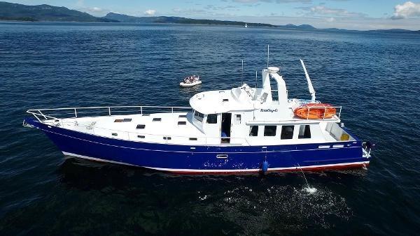 2014 Whitacre 68 Offshore Adventure Pleasure Yacht Coast Guard Cutter Photo 2 sur 44