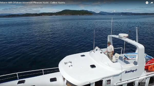2014 Whitacre 68 Offshore Adventure Pleasure Yacht Coast Guard Cutter Photo 27 sur 44