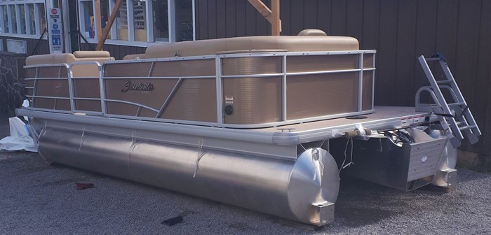 2019 Godfrey Sweetwater Pontoon&Mercury Motor (Package) 2186 Cruise C4H (Handicap) - Metallic Bronze Photo 1 of 9