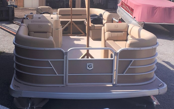 2019 Godfrey Sweetwater Pontoon&Mercury Motor (Package) 2186 Cruise C4H (Handicap) - Metallic Bronze Photo 3 of 9