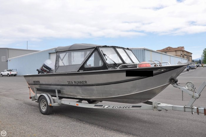 Hewescraft Sea Runner 19 1995 Used Boat for Sale in Camas, Washington -  BoatDealers ca