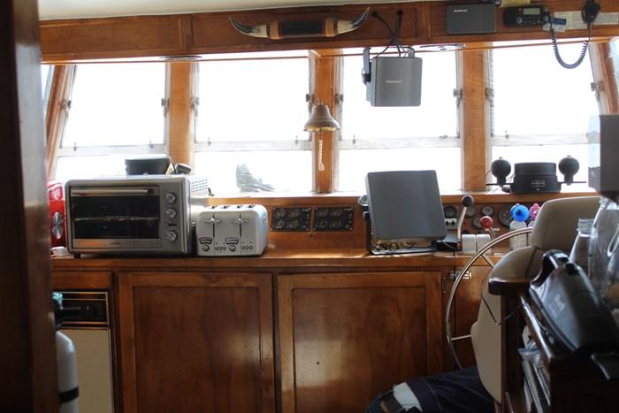 1995 Custom Steel Trawler Custom Built Photo 4 of 93