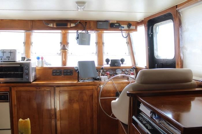 1995 Custom Steel Trawler Custom Built Photo 11 of 93