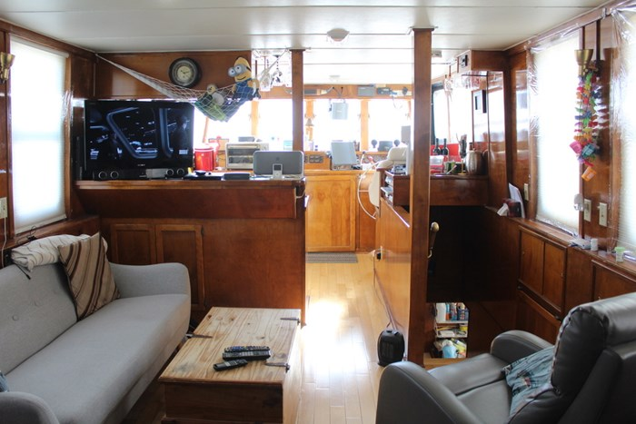 1990 Custom Steel Trawler Custom Built Photo 14 of 50