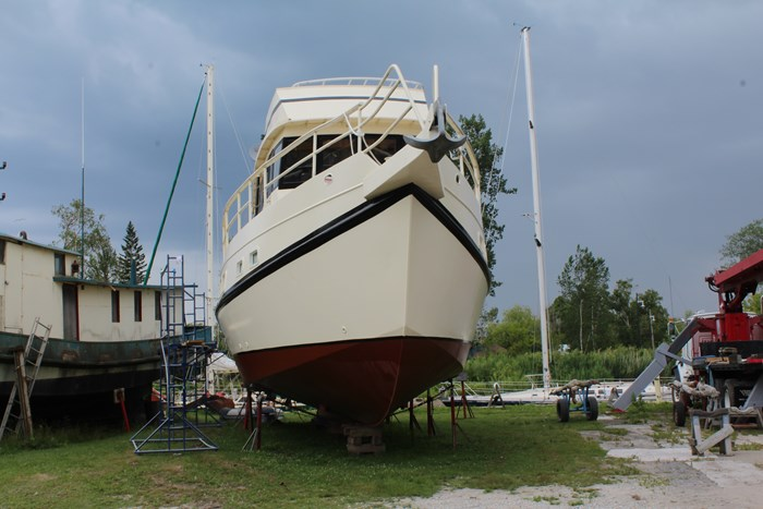 1990 Custom Steel Trawler Custom Built Photo 4 of 50