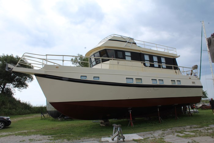 1990 Custom Steel Trawler Custom Built Photo 7 of 50