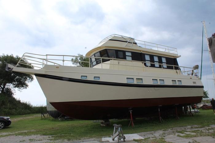1990 Custom Steel Trawler Custom Built Photo 7 sur 50
