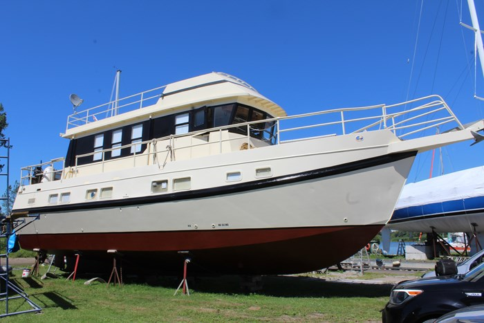 1990 Custom Steel Trawler Custom Built Photo 6 of 50