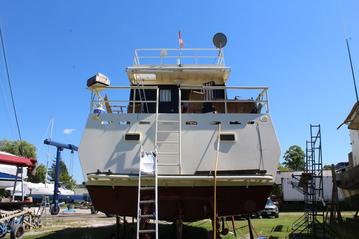 1990 Custom Steel Trawler Custom Built Photo 9 sur 50