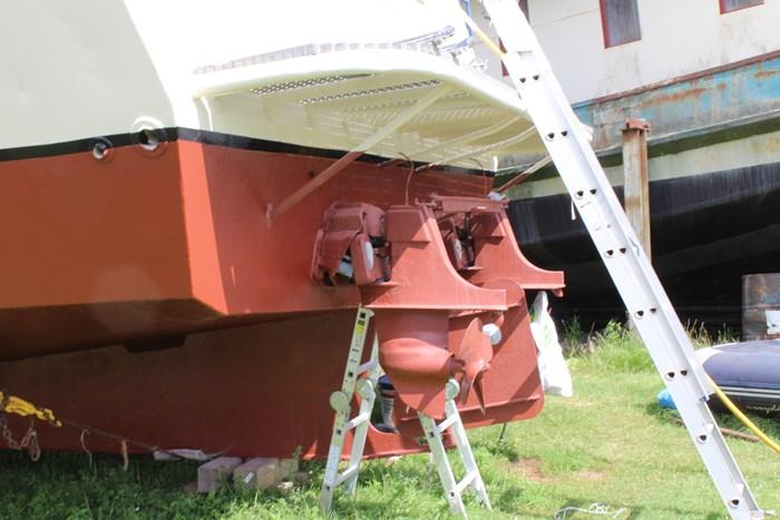 1990 Custom Steel Trawler Custom Built Photo 8 sur 50