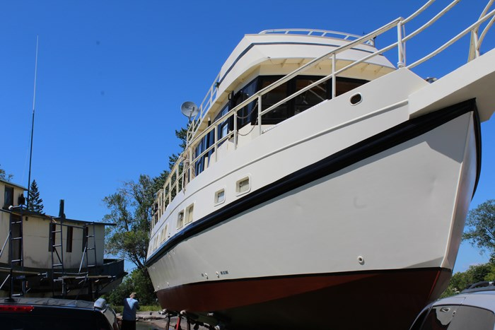1990 Custom Steel Trawler Custom Built Photo 5 of 50