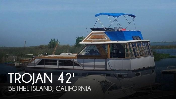 1972 Trojan Flush Deck Motoryacht 42 Photo 1 of 20