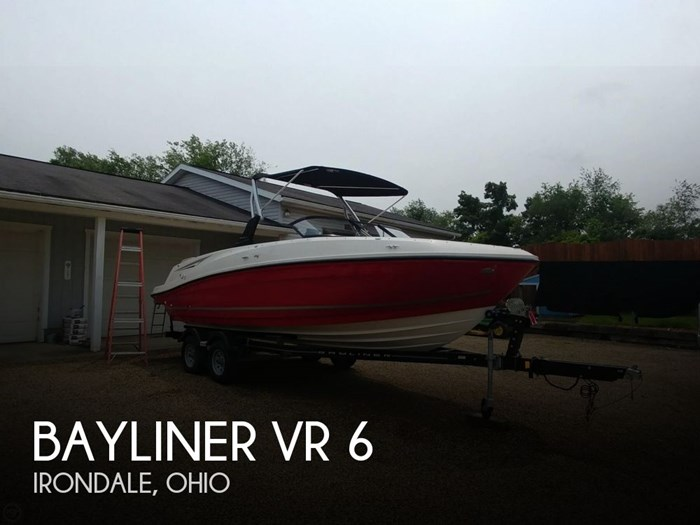 2016 Bayliner VR 6 Photo 1 sur 20