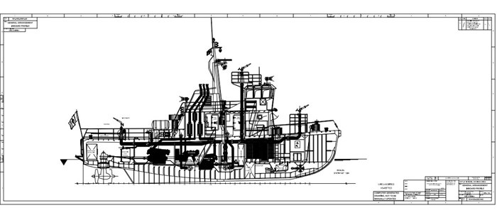 1978 1978 76′ x 21′ x 8.5′ Fire Class Tug w/ Tractor Capabilities Photo 9 of 10