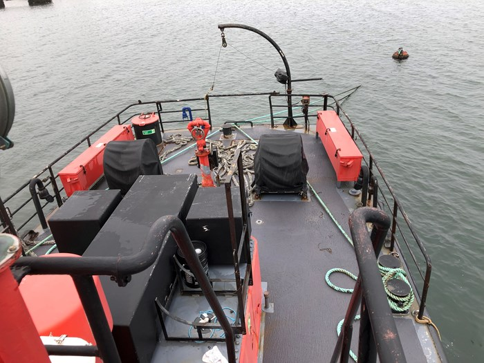 1978 1978 76′ x 21′ x 8.5′ Fire Class Tug w/ Tractor Capabilities Photo 6 of 10