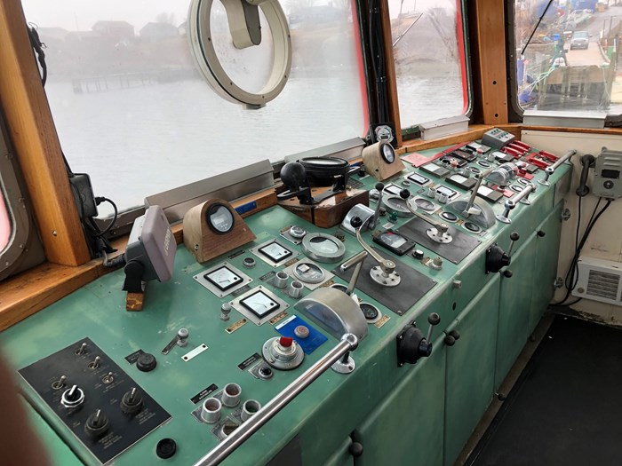 1978 1978 76′ x 21′ x 8.5′ Fire Class Tug w/ Tractor Capabilities Photo 7 of 10