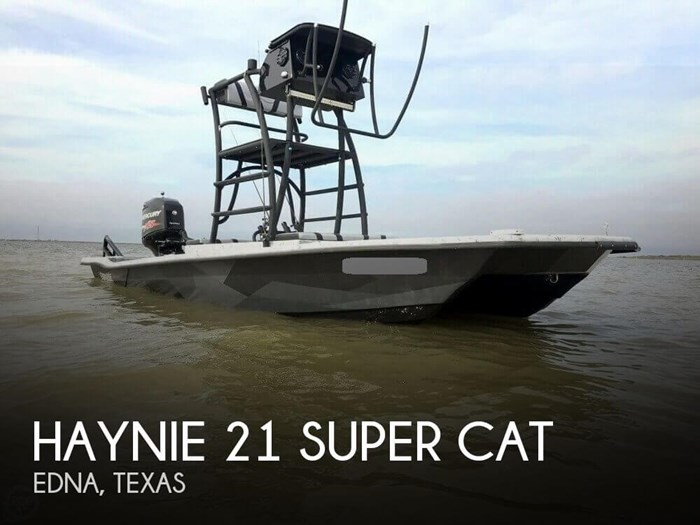 Haynie 21 Super Cat 2015 Used Boat for Sale in Edna, Texas - BoatDealers ca