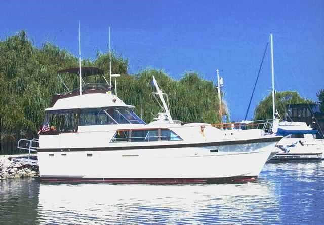 Hatteras Yachts 43DC MOTORYACHT 1976 Used Boat for Sale in Marblehead, Ohio  - BoatDealers ca