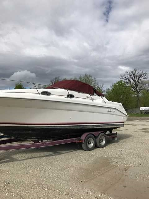 Sea Ray 270 SUNDANCER 1994 Used Boat for Sale in Antioch, Illinois -  BoatDealers ca