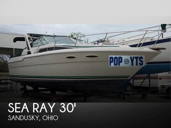 Sea Ray 300 Sundancer 1988 Used Boat for Sale in Sandusky, Ohio -  BoatDealers ca