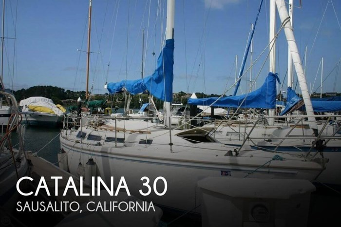 Catalina 30 1982 Used Boat for Sale in Sausalito, California -  BoatDealers ca
