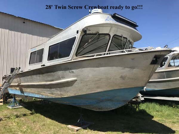 1988 Crewboat Twin Screw Photo 1 of 6