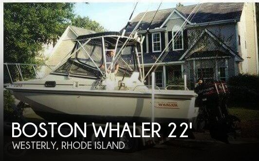 1988 Boston Whaler 22 Revenge WT Photo 1 of 20