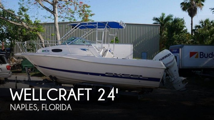 1995 Wellcraft Excel 23 Fish Photo 1 of 20