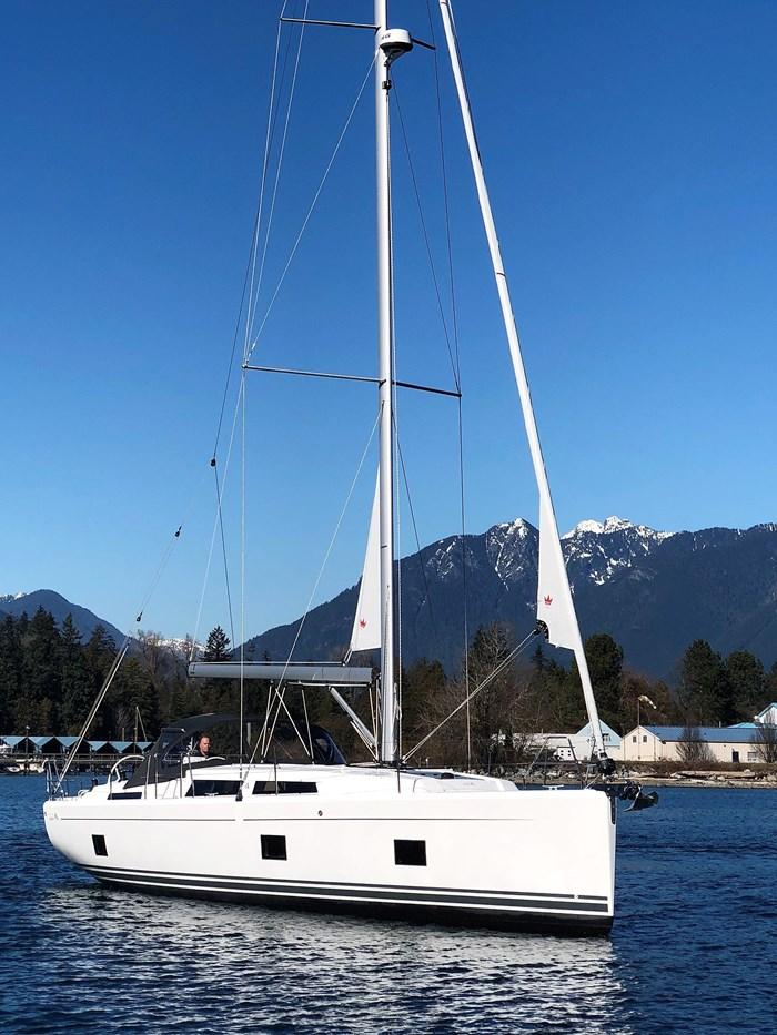 2020 Hanse Yachts 418 Photo 44 sur 46
