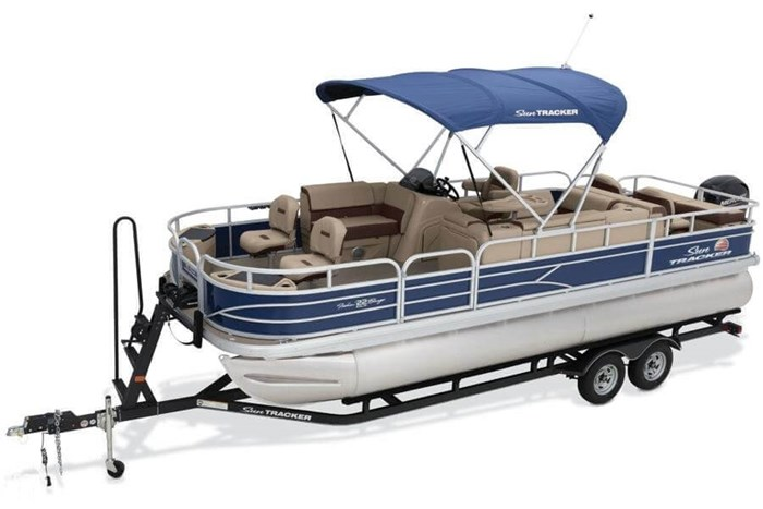 2016 Sun Tracker 22 DLX Fishin Barge Photo 8 sur 21
