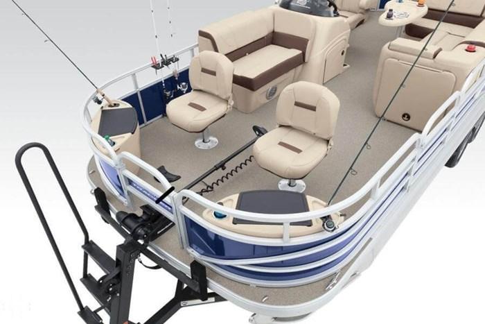 2016 Sun Tracker 22 DLX Fishin Barge Photo 9 sur 21