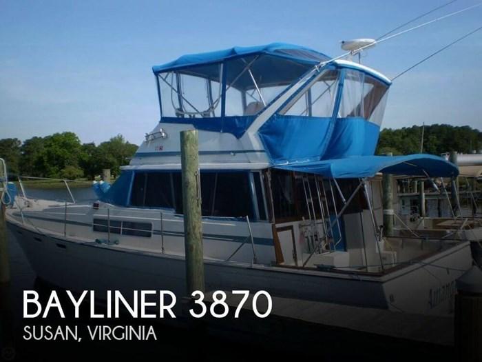 1983 Bayliner 3870 Photo 1 sur 21