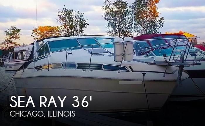 1980 Sea Ray SRV 360 Express Cruiser Photo 1 sur 20