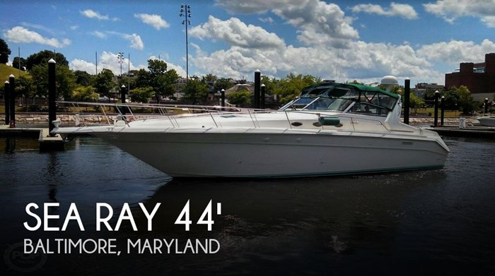 1995 Sea Ray 440 SUNDANCER Photo 1 sur 20