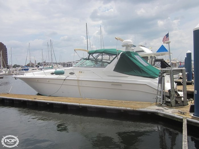 1995 Sea Ray 440 SUNDANCER Photo 2 sur 20