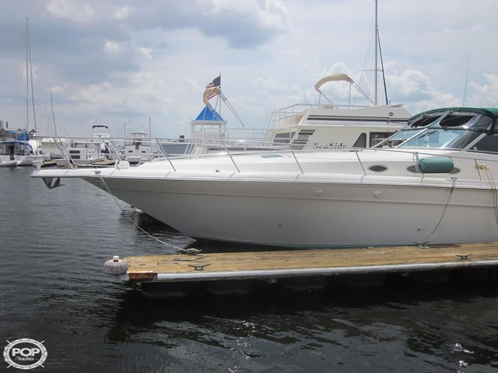 1995 Sea Ray 440 SUNDANCER Photo 4 sur 20
