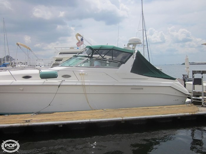 1995 Sea Ray 440 SUNDANCER Photo 5 sur 20