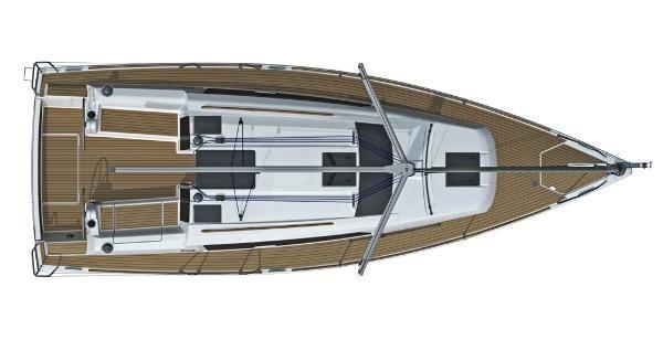 2021 Dufour Yachts 310 Grand Large Photo 7 sur 14