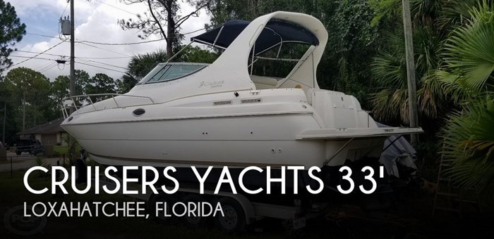 1998 Cruisers Yachts 3075 Rouge Photo 1 sur 20