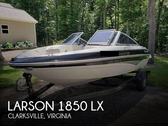 2010 Larson 1850 LX Photo 1 sur 18