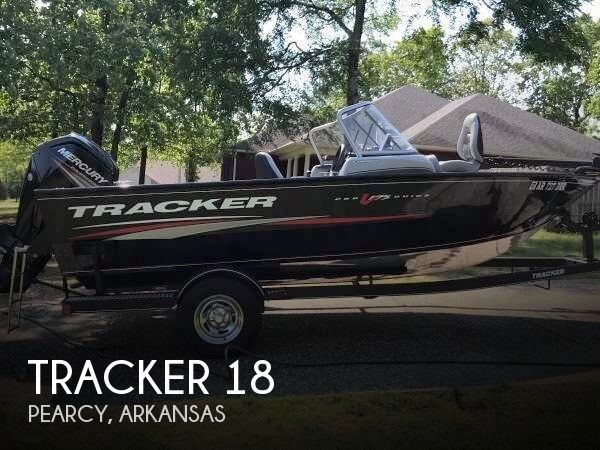 Tracker 18 2018 Used Boat for Sale in Pearcy, Arkansas - BoatDealers ca