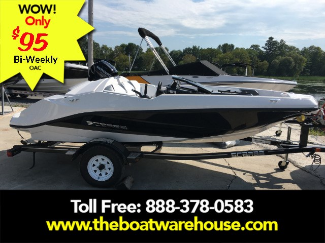 2019 Scarab 165 Ghost Rotax 150HP Trailer Photo 2 of 14