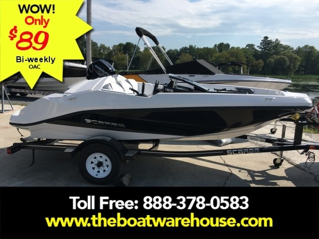 2019 Scarab 165 Ghost Rotax 150HP Trailer Photo 1 of 14