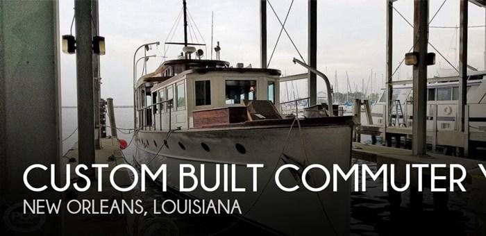 1929 Custom Built Commuter Yacht 73 Photo 1 sur 20