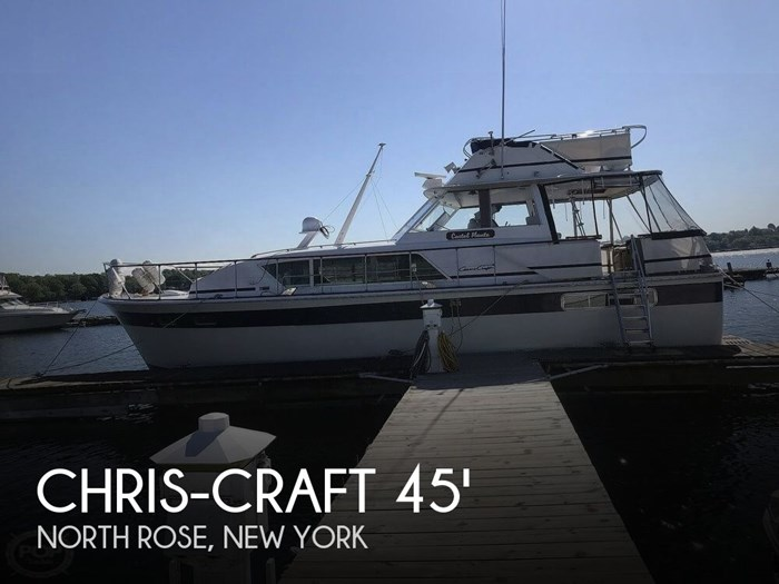 1973 Chris-Craft 45 Commander Photo 1 sur 20