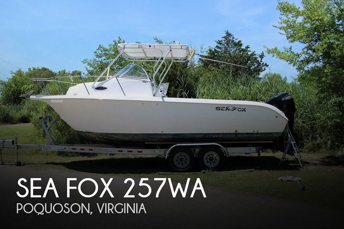 2004 Sea Fox 257WA Photo 1 sur 20